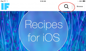 search recipes
